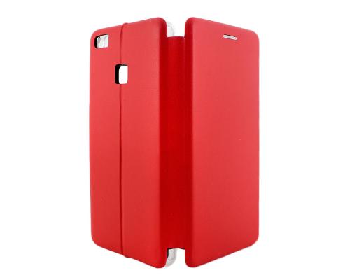 Чехол-книжка Huawei P8/P9 Lite 2017, вбок, red, FASHION CASE