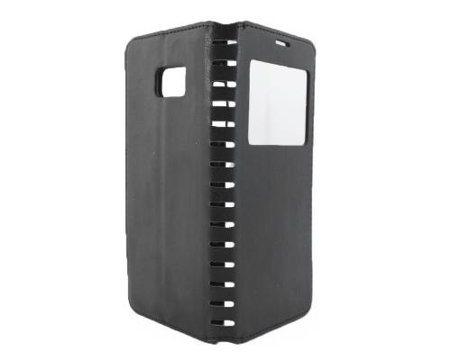 Чехол-книжка Samsung Note 7, black, NEW CASE