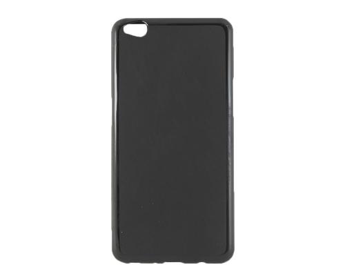 Чехол-накладка ZTE Nubia M2 Lite, силиконовый, матовый, black