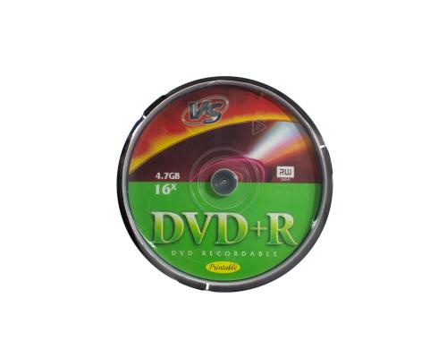 DVD+R VS 4.7 Gb 16x Cake Box/10 Ink.Print