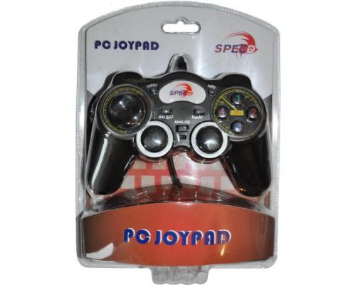Геймпад SPEED JNP-J2128BG Game Pad for Single Player, PC-USB