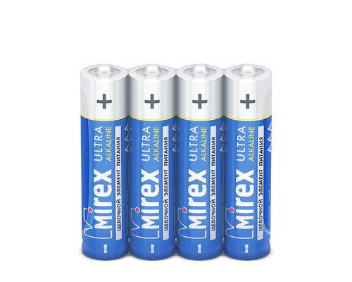 Батарейки Mirex LR03 AAA, SR4, 4 шт в термопленке (40 шт/уп)