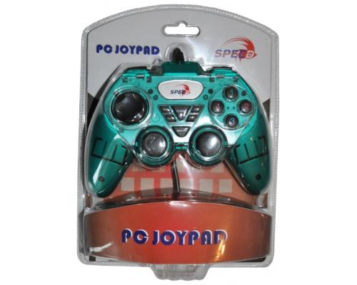 Геймпад SPEED JNP-J2129G Game Pad for Single Player, PC-USB